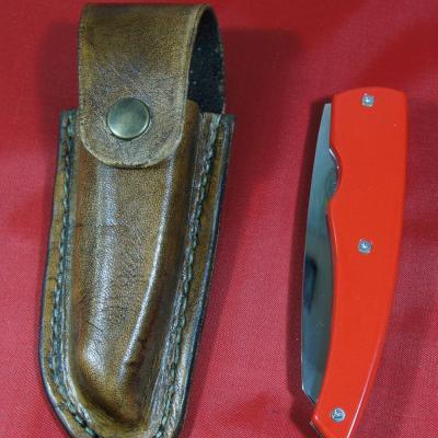 Linerlock G10 rouge